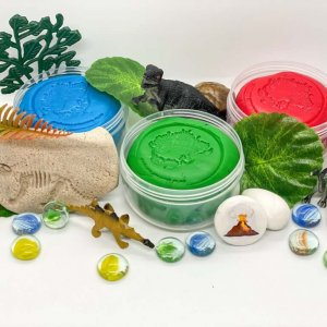 Dinosaur Playdough Activity Kit Box by Malaysia Toys