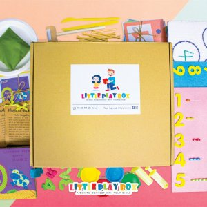 Learning with Numbers Playbox Activity Box Kit by Malaysia Toys