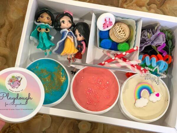 Princess Playdough Activity Kit Box by Malaysia Toys