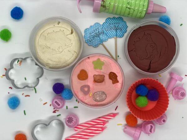 Birthday Playdough Kit by Malaysia Toys