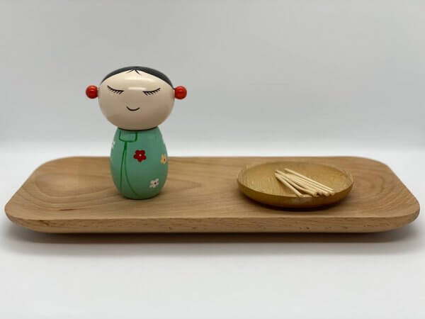 Fine Motor Toothpick Holder by Malaysia Toys - Asian Girl Example