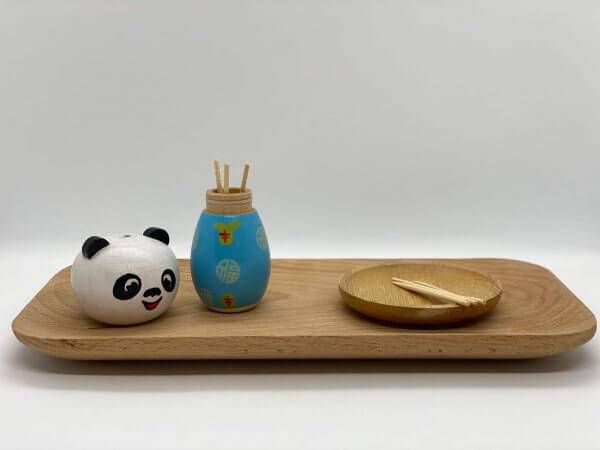 Fine Motor Toothpick Holder by Malaysia Toys - Panda Example