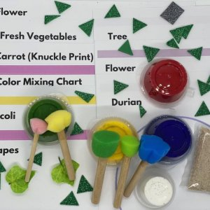 Garden Fingerpainting Kit by Malaysia Toys