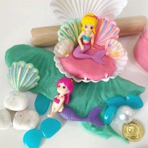 Mermaid Playdough Activity Box Kit by Malaysia Toys