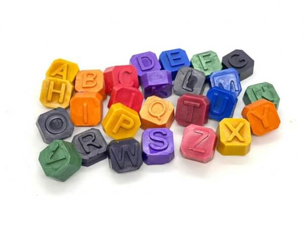 Mini Beeswax Personalized Alphabet Name Crayons by Malaysia Toys
