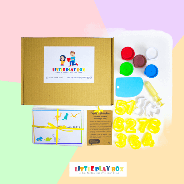 Numbers Playdough Playbox Activity Box Kit by Malaysia Toys