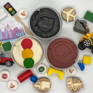 The City Playdough Kit by Malaysia Toys
