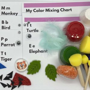 Zoo Fingerpainting Kit by Malaysia Toys