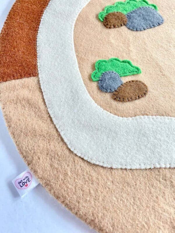 Construction Themed Play Mat by Malaysia Toys