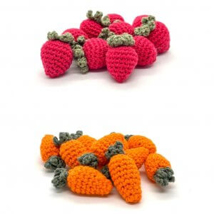 Mini Crocheted Food by Malaysia Toys