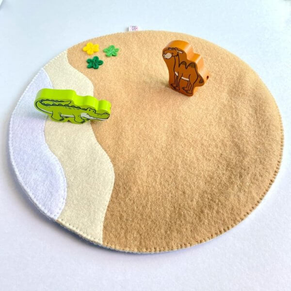 Desert Themed Play Mat by Malaysia Toys