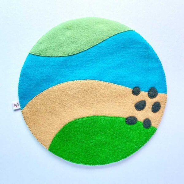 Forest Themed Play Mat by Malaysia Toys