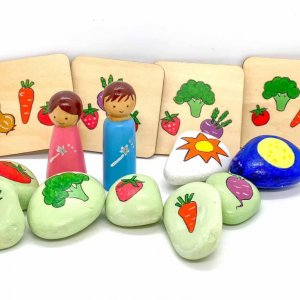 Garden Story Stones by Malaysia Toys