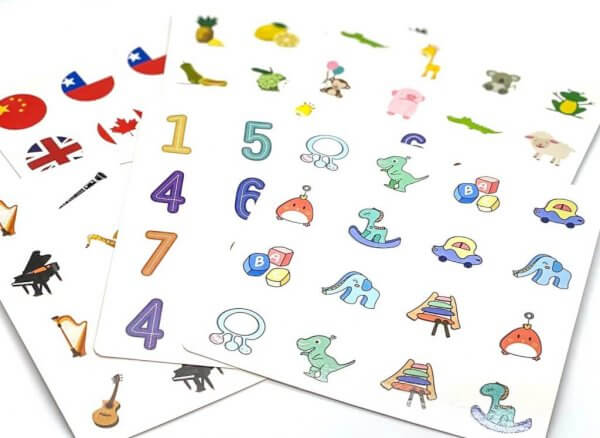 Memory Match Game Board by Malaysia Toys