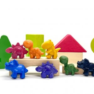 Mini Beeswax Crayons by Malaysia Toys - Dinosaur