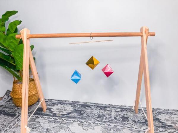 Montessori Octahedron Mobile by Malaysia Toys