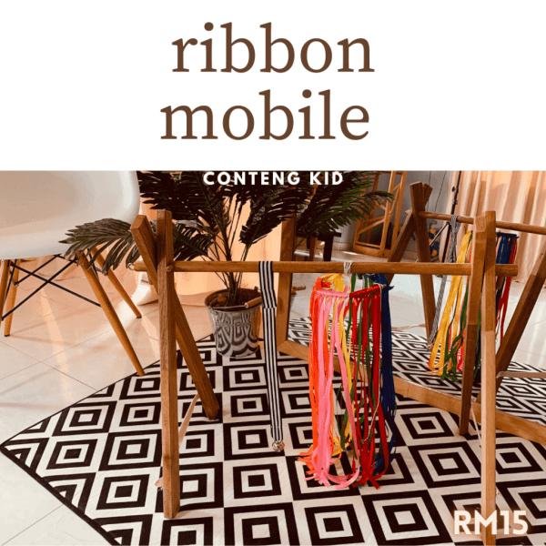 Montessori Ribbon Mobile by Malaysia Toys