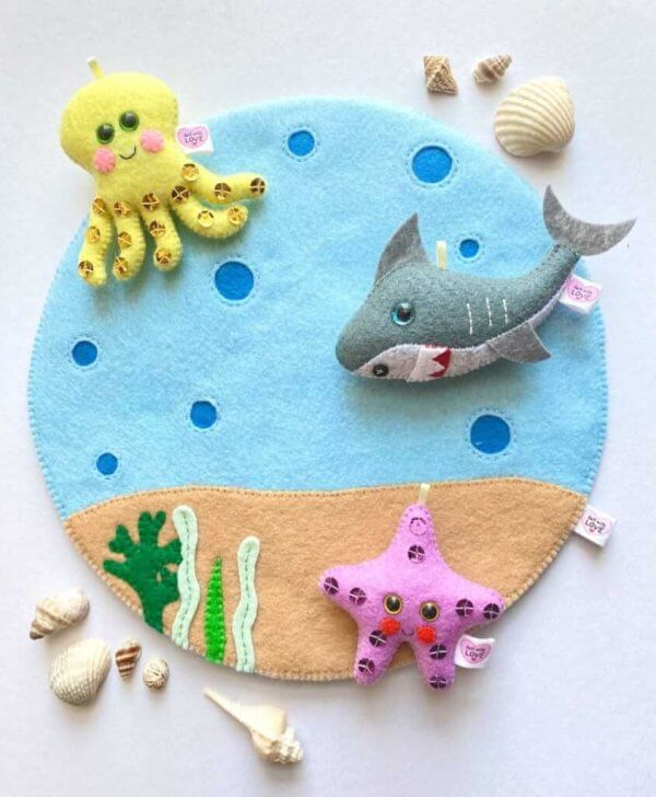 Ocean Themed Play Mat by Malaysia Toys
