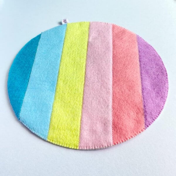 Pastel Rainbow Themed Play Mat by Malaysia Toys