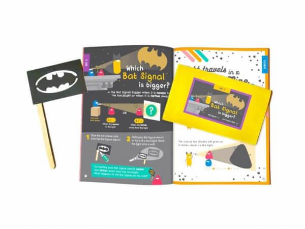Playful Light & Mysterious Shadow Activity Box Kit by Malaysia Toys - Bat Signal