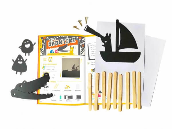 Playful Light & Mysterious Shadow Activity Box Kit by Malaysia Toys - Shadow Play
