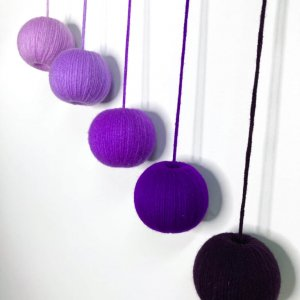 Purple Montessori Gobbi Mobile by Malaysia Toys