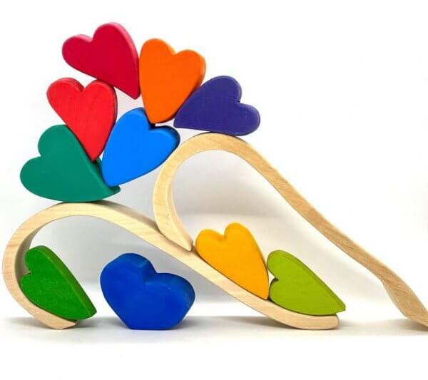 Rainbow Hearts by Malaysia Toys