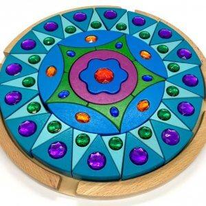 Sparkling Gem Mandala Building Blocks by Malaysia Toys