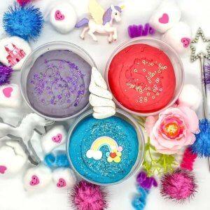 Unicorn Playdough Activity Box Kit by Malaysia Toys