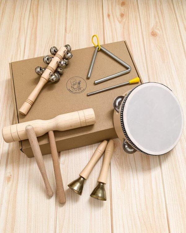 Montessori Music Set of 5 by Malaysia Toys