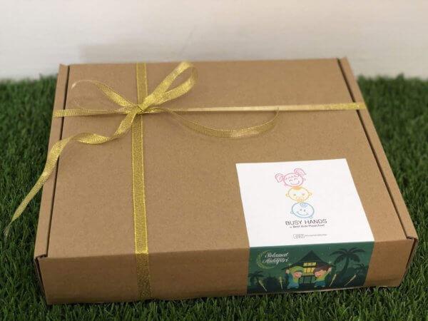 Special Edition Raya Busy Activity Box Kit by Malaysia Toys - Box