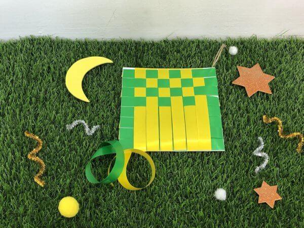 Special Edition Raya Busy Activity Box Kit by Malaysia Toys - Ketupat Weaving Art