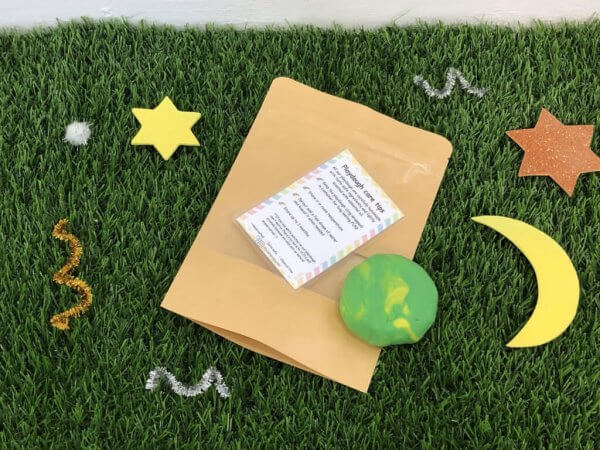 Special Edition Raya Busy Activity Box Kit by Malaysia Toys - Playdough