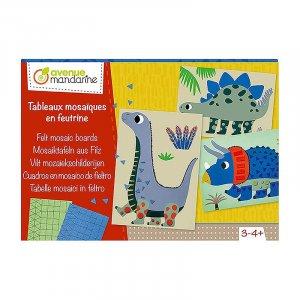 Avenue Mandarine Creative Box Felt Mosaic Boards by Malaysia Toys