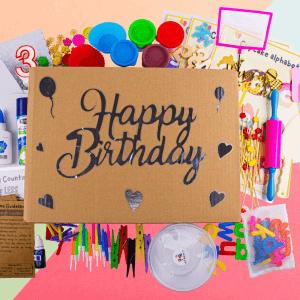 Birthday Play Activity Box Kit by Malaysia Toys