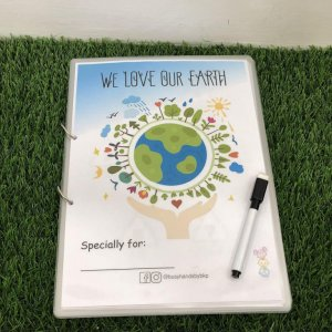 Earth Busy Book by Malaysia Toys