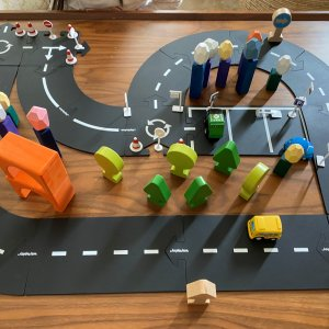 Flexible Toy Roads by Malaysia Toys
