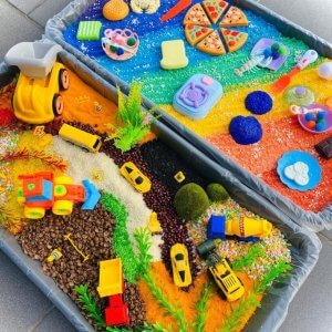 Messy Trays by Malaysia Toys