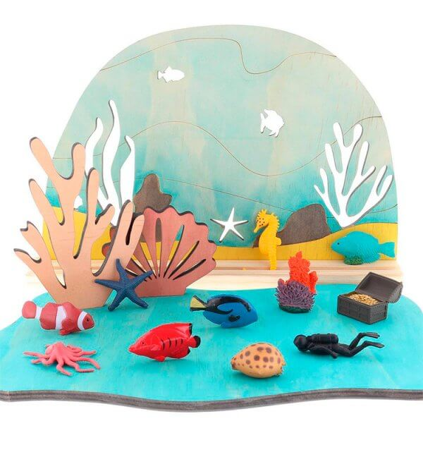 Ocean Story Scene by Malaysia Toys