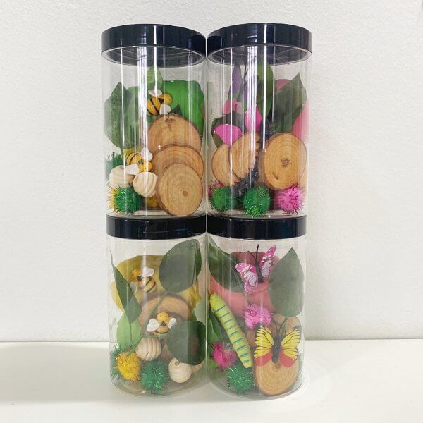 Butterfly Party Favour Playdough Jars by Malaysia Toys