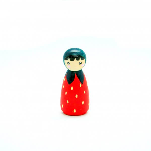 Fruit Peg Dolls by Malaysia Toys