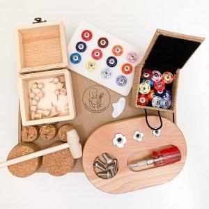 Montessori Fine Motor Tool Kit by Malaysia Toys