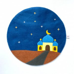 Mosque Felt Play Mat by Malaysia Toys