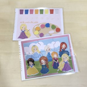 Princess Busy Book by Malaysia Toys