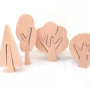 Wooden Puzzle Trees by Malaysia Toys