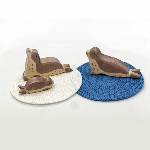Wooden Sea Lions by Malaysia Toys