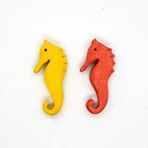 Wooden Seahorse by Malaysia Toys