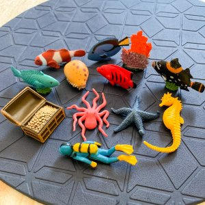 Coral Reef Figurines Set by Malaysia Toys