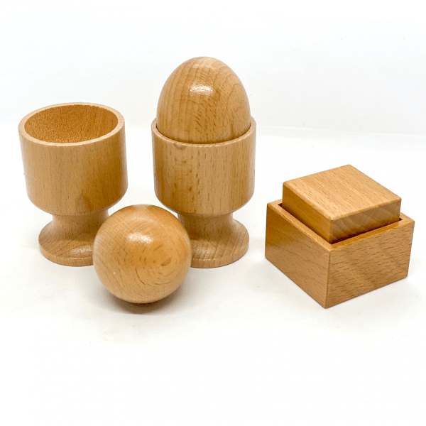 Egg, Ball and Cube Puzzle Set by Malaysia Toys