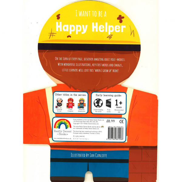 I Want to be a Happy Helper (Really Decent Books) by Malaysia Toys
